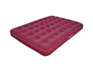 OUTDOOR CONNECTION DOUBLE VELOUR AIR BED