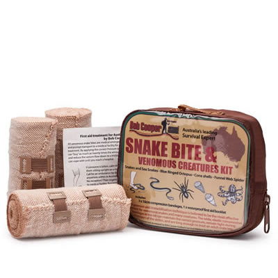 Bob Cooper Outdoor Survival Snake Bite & Venomous Creatures Kit