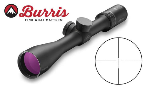 Burris Droptine 3-9x50mm Scope Ballistic Plex -  - Mansfield Hunting & Fishing - Products to prepare for Corona Virus