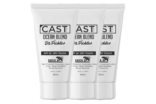 OCEAN BLEND 50+ DRY TOUCH SUNSCREEN - CAST MAG X DR PICKLES