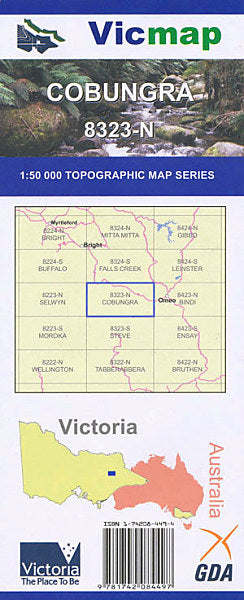 VIC MAP - COBUNGRA - 8323-N -  - Mansfield Hunting & Fishing - Products to prepare for Corona Virus