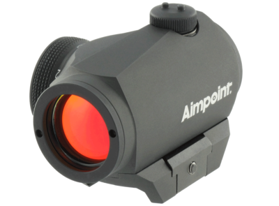 AIMPOINT MICRO H-1 2MOA INCL WEAVER MOUNT -  - Mansfield Hunting & Fishing - Products to prepare for Corona Virus