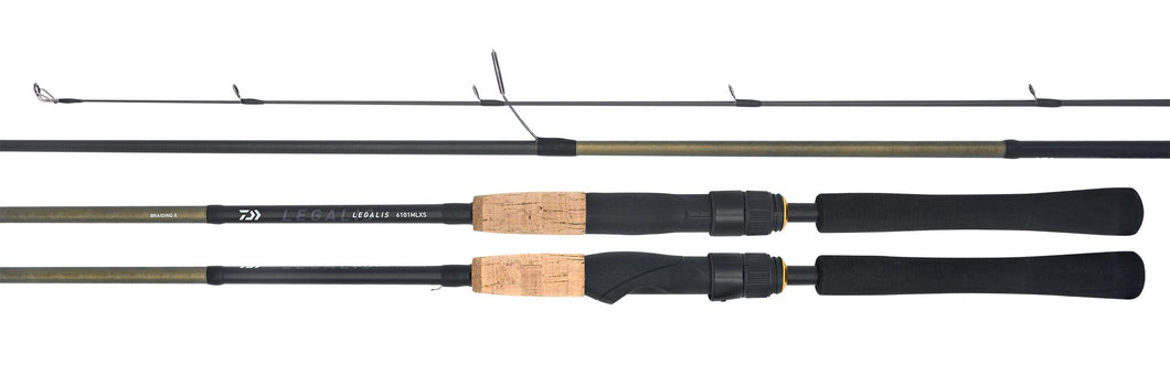 DAIWA LEGALIS 702LFS 2 PIECE SPIN ROD -  - Mansfield Hunting & Fishing - Products to prepare for Corona Virus