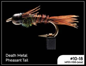 MANIC DEATH METAL PHEASANT TAIL -  - Mansfield Hunting & Fishing - Products to prepare for Corona Virus