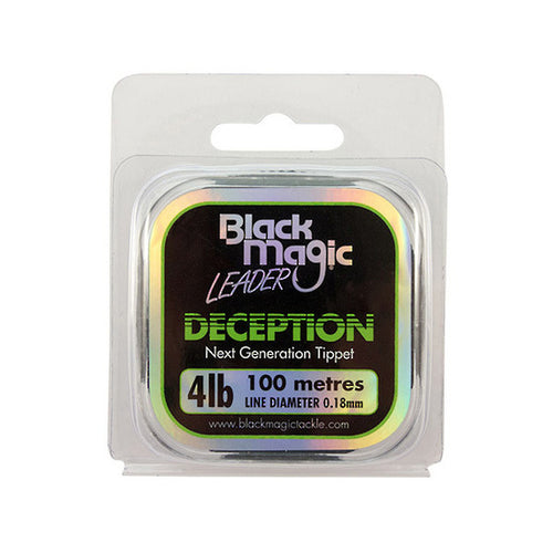 BLACK MAGIC FW DECEPTION TIPPET 100m -  - Mansfield Hunting & Fishing - Products to prepare for Corona Virus
