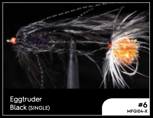 MANIC EGGTRUDER BLACK #6 -  - Mansfield Hunting & Fishing - Products to prepare for Corona Virus