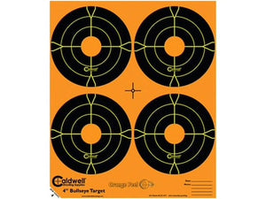 CALDWELL ORANGE PEEL BULLSEYE 4 -  - Mansfield Hunting & Fishing - Products to prepare for Corona Virus