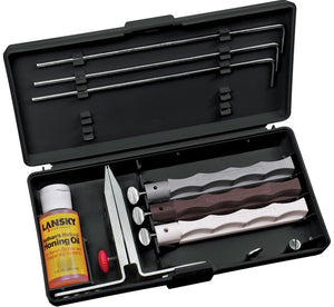 LANSKY SYSTEM ARKANSAS 3 STONE SHARPENING SYSTEM -  - Mansfield Hunting & Fishing - Products to prepare for Corona Virus