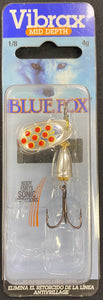 BLUE FOX VIBRAX HOT PEPPER 1MM - 1MM / SILVER RED - Mansfield Hunting & Fishing - Products to prepare for Corona Virus