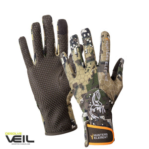 HUNTERS ELEMENT CRUX FULL FINGER GLOVES DESOLVE VEIL -  - Mansfield Hunting & Fishing - Products to prepare for Corona Virus