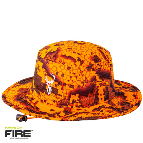HUNTERS ELEMENT BOONIE HAT - DESOLVE FIRE -  - Mansfield Hunting & Fishing - Products to prepare for Corona Virus