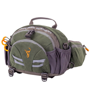 HUNTERS ELEMENT DIVIDE BELT BAG FOREST GREEN -  - Mansfield Hunting & Fishing - Products to prepare for Corona Virus