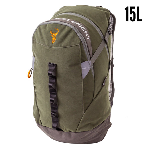HUNTERS ELEMENT VERTICAL PACK FOREST GREEN -  - Mansfield Hunting & Fishing - Products to prepare for Corona Virus