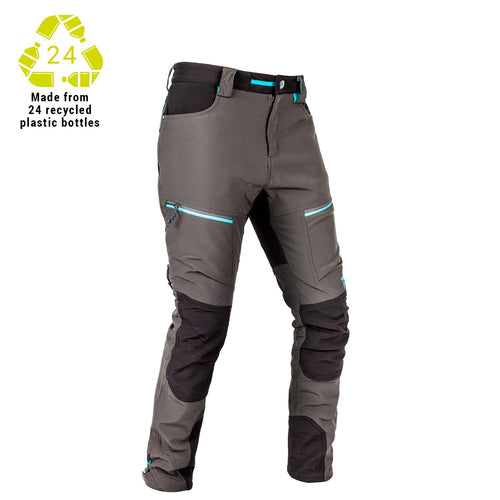 HUNTERS ELEMENT WOMENS BOULDER TROUSER - FOREST GREEN/GREY - 6 - Mansfield Hunting & Fishing - Products to prepare for Corona Virus