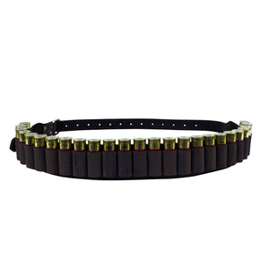 SPIKA LEATHER AMMO BELT 12G -  - Mansfield Hunting & Fishing - Products to prepare for Corona Virus