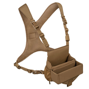 OUTDOOR VISION RIDGETOP BINO HARNESS COYOTE MEDIUM -  - Mansfield Hunting & Fishing - Products to prepare for Corona Virus