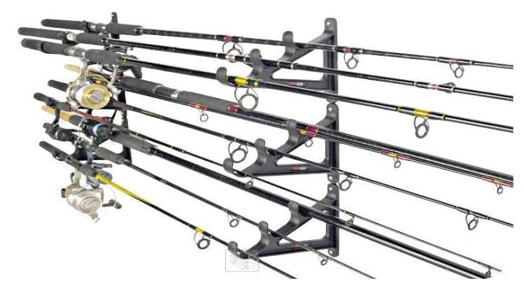 SEA DOG HORIZONTAL ROD RACK 2 PACK -  - Mansfield Hunting & Fishing - Products to prepare for Corona Virus
