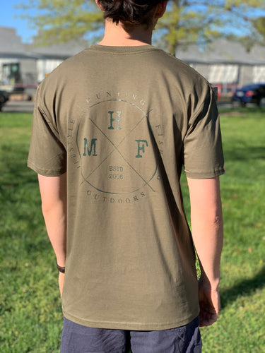 MHF GREEN LIFESTYLE TEE -  - Mansfield Hunting & Fishing - Products to prepare for Corona Virus