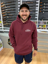 MHF ANTLER HOODIE BURGUNDY -  - Mansfield Hunting & Fishing - Products to prepare for Corona Virus