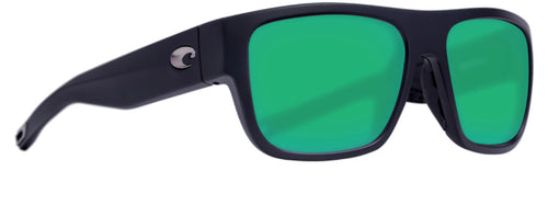 COSTA SAMPAN MATTE BLACK GREEN MIRROR 580G -  - Mansfield Hunting & Fishing - Products to prepare for Corona Virus