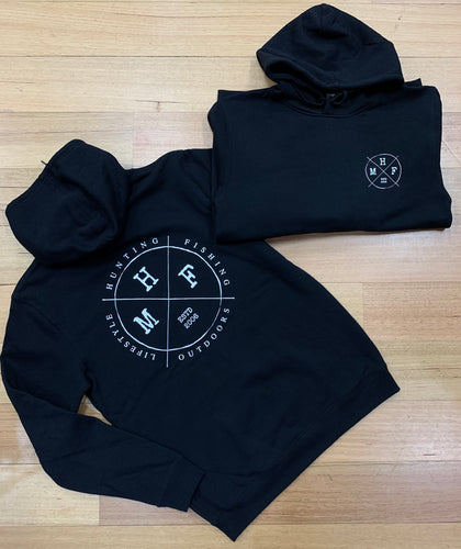 MHF LIFESTYLE HOODIE BLACK - S / BLACK - Mansfield Hunting & Fishing - Products to prepare for Corona Virus