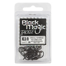 Black Magic KL Hook - Various Sizes - 3/0 - Mansfield Hunting & Fishing - Products to prepare for Corona Virus