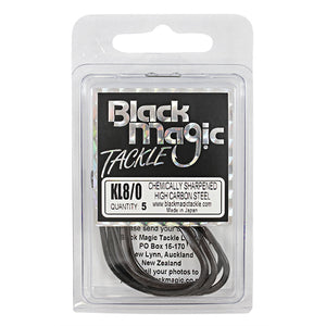 Black Magic KL Hook - Various Sizes - 8/0 - Mansfield Hunting & Fishing - Products to prepare for Corona Virus