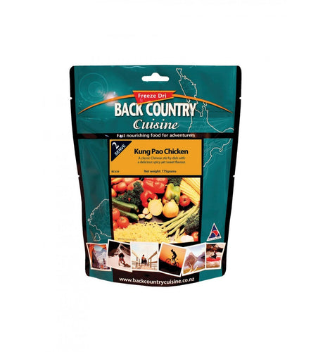 BACK COUNTRY CUISINE KUNG PAO CHICKEN - CAMPING-FREEZE DRIED FOOD - Mansfield Hunting & Fishing
