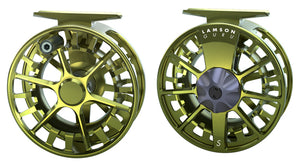 LAMSON GURU S-SERIES 5/6 FLY REEL OLIVE GREEN -  - Mansfield Hunting & Fishing - Products to prepare for Corona Virus