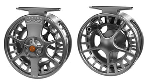 LAMSON LIQUID 3+ FLY REEL - SMOKE -  - Mansfield Hunting & Fishing - Products to prepare for Corona Virus