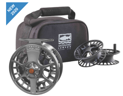 LAMSON LIQUID 3-PACK FLY FISHING REEL & SPOOLS -5+ -  - Mansfield Hunting & Fishing - Products to prepare for Corona Virus