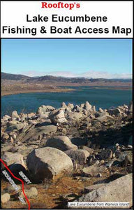 ROOFTOPS - LAKE EUCUMBENE FISHING AND BOAT ACCESS MAP -  - Mansfield Hunting & Fishing - Products to prepare for Corona Virus