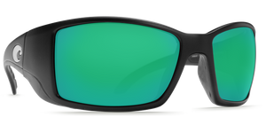 COSTA BLACKFIN MATTE BLACK GREEN MIRROR 580G -  - Mansfield Hunting & Fishing - Products to prepare for Corona Virus