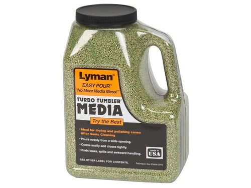 LYMAN CORN COB MEDIA 6 LB EASY POUR -  - Mansfield Hunting & Fishing - Products to prepare for Corona Virus