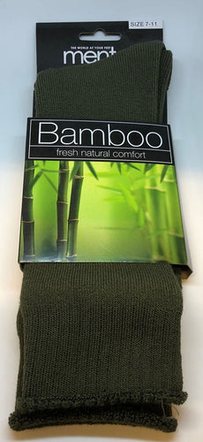 MENTOR - BAMBOO SOCKS - 11-14 / KHAKI - Mansfield Hunting & Fishing - Products to prepare for Corona Virus