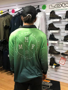 MHF ADULTS LIFESTYLE FISHING SHIRT - GREEN -  - Mansfield Hunting & Fishing - Products to prepare for Corona Virus