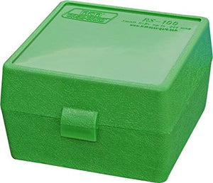 MTM AMMO BOX SMALL 100 RND -  - Mansfield Hunting & Fishing - Products to prepare for Corona Virus