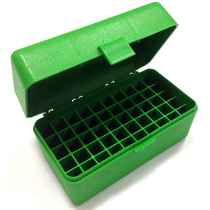 MTM 50 RD HINGED AMMO BOX -  - Mansfield Hunting & Fishing - Products to prepare for Corona Virus