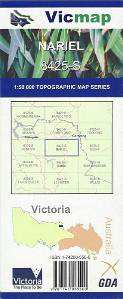 VIC MAP - NARIEL - 8425-S -  - Mansfield Hunting & Fishing - Products to prepare for Corona Virus