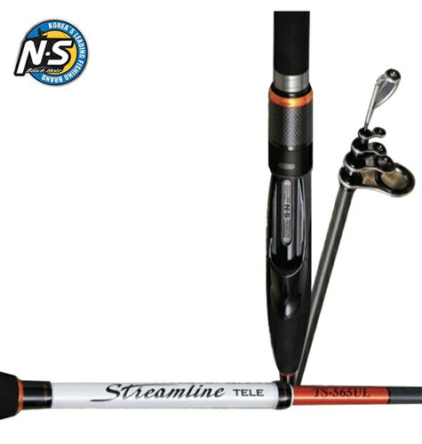 NS STREAMLINE TELE TS-565UL SPIN ROD 2-5LB 5OC -  - Mansfield Hunting & Fishing - Products to prepare for Corona Virus