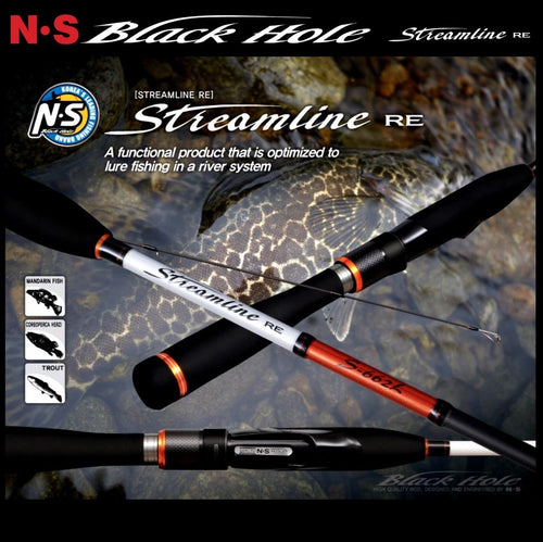 NS STREAMLINE RE S-662L SPIN ROD 3-8LB 2PC -  - Mansfield Hunting & Fishing - Products to prepare for Corona Virus