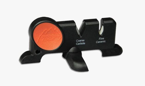 OUTDOOR EDGE SHARP-X CERAMIC/CARBIDE KNIFE SHARPENER -  - Mansfield Hunting & Fishing - Products to prepare for Corona Virus