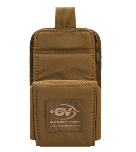 OUTDOOR VISION RANGEFINDER POUCH COYOTE BROWN -  - Mansfield Hunting & Fishing - Products to prepare for Corona Virus