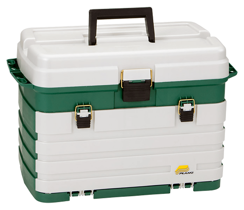 PLANO 758 TACKLE BOX LARGE FOUR DRAWER SYSTEM -  - Mansfield Hunting & Fishing - Products to prepare for Corona Virus