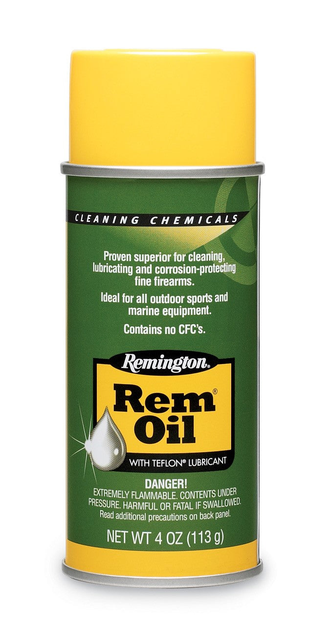 REM OIL SPRAY CAN 4 OZ -  - Mansfield Hunting & Fishing - Products to prepare for Corona Virus