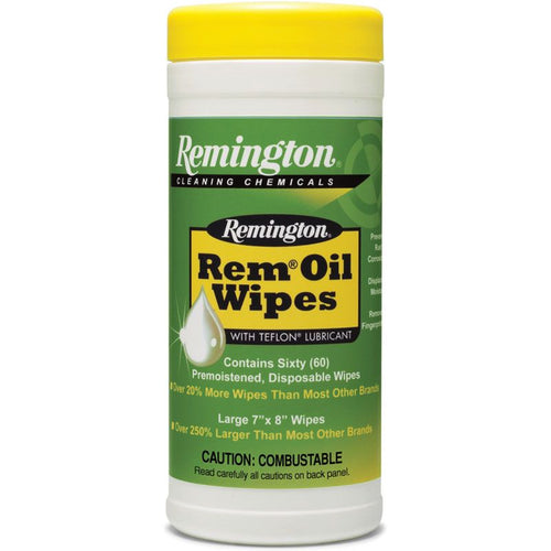 REM OIL WIPES -  - Mansfield Hunting & Fishing - Products to prepare for Corona Virus
