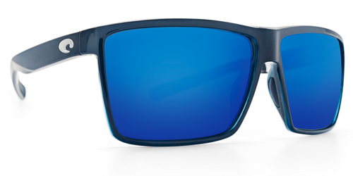 COSTA RINCON SHINY BLACK FRAME BLUE MIRROR 580G -  - Mansfield Hunting & Fishing - Products to prepare for Corona Virus