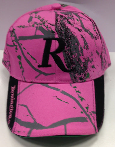 REMINGTON PINK CAMO CAP -  - Mansfield Hunting & Fishing - Products to prepare for Corona Virus