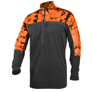 STONEY CREEK MICRO+ L/S TOP BLAZE/BLACK -  - Mansfield Hunting & Fishing - Products to prepare for Corona Virus