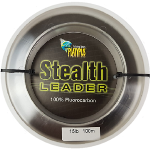 PLATYPUS STEALTH LEADER 100M -  - Mansfield Hunting & Fishing - Products to prepare for Corona Virus